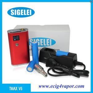 Quality Sigelei Tmax V5 mod ecig discount price vapor manufacturer supplier for sale