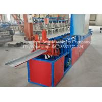 Buy cheap Hydraulic Roofing Sheet Making Machine 250 / 312 And 416mm Changeable Soffit from wholesalers