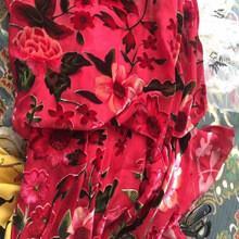 Quality Hot Sale Burnout Silk Velvet Fabric/Burnout Fabric/Silk Velvet Fabric for sale