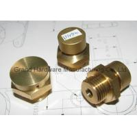 China NPT / BSP male thread natural brass breather vent plugs,air released plugs,professional manufacturer supplier in China on sale