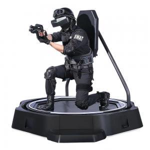 Quality Immersive Virtual Reality Sports Simulators , VR Running Treadmill Machine for sale