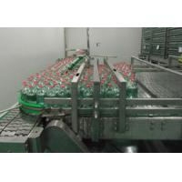 Buy cheap Stable Performance Packing Conveyor Machine , Chain Plate Conveyor For Bottles from wholesalers