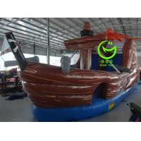 China Pirate ship inflatable slide with 24months warranty GT-SAR-1634 on sale