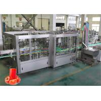 China Tomato Juice Aseptic Filling Machine 3000 - 6000 L/H 12 Months Warranty on sale