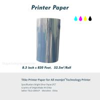 Color inkjet printer wholesaler color inkjet printer for sale bright silver paper for all memjet technology printer printer paper 83 inch x 820 ftpet label paper printer media m4hsunfo