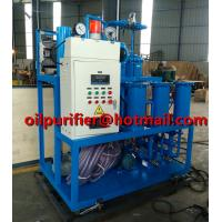 Quality Lubricating Oil Purification Plant Hydraulic Oil Recycling Machine Vacuum Type Gear Oil Purifier treatment solution for sale