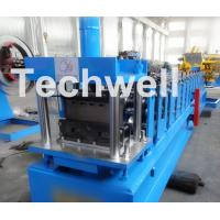 Buy Light Steel Stud Roll Forming Machine , 5.5 Kw Industrial Metal Roll Forming at wholesale prices