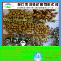Quality China CE automatic fish food process line/pet food machine/fish feed machine for sale