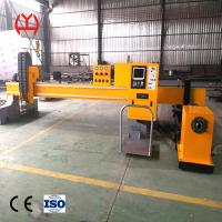 China Automatic Ignition Fiber Laser Pipe Cutting Machine 0-10000mm / Min High Speed on sale