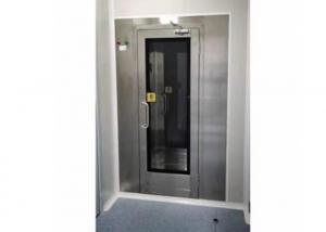 Quality Single Person SUS304 220V Air Shower Tunnel For Pharmaceutical Industry for sale