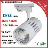 Quality CREE COB LED Track Light 3 years warranry isolated IC constant driver high PFC CRI lumen for sale