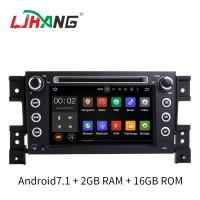 Quality 7 Inch Android 7.1 SUZUKI Car DVD Player Car Radio Player With Rear Camera DVR OBD for sale