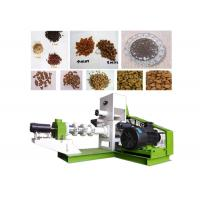 Quality High Grade Fish Feed Pellet Machine Floating Type Saving Space 380V / 220V for sale