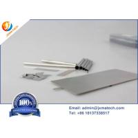 Quality Pt213-Pt262 Platinum Sheet Electrode 99.95%-99.9995% Purity Customized Electrode Size for sale