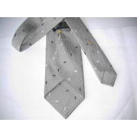 China Arc-Shaped Woven Silk Necktie (BNP9187) on sale