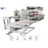 Quality Automatic High Frequency Wood Joining Machine 1220×5200 mm Working Area for sale