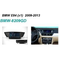 Quality Multimedia GPS BMW DVD Players , Car Radio DVD Player with  8 Digital Screen for sale
