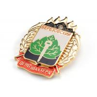 Quality Zinc Alloy Metal Pin Badges No Smell Epoxy Coating With Personalised Logo for sale