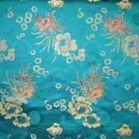 China Silk Jacquard Brocad Fabric, Available in Weft Side Optional Color, with 72cm Width on sale