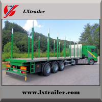 Best Factory hot sale low price wood / timber transport semi trailer truck wholesale