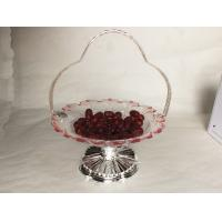 Sun flower shape candy bowl w/classic stand & elegant  (2)