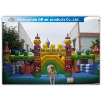 Quality Happy Children Game Inflatable Fun City Micky & Duck Inflatable Kids Toys for sale