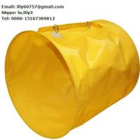 Quality PVC coated polyester fabric ventilation air tarpaulin duct for sale