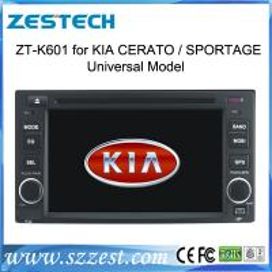 Quality ZESTECH OEM car multimedia for Kia Rondo car audio video gps navigation in-dash dvd players car automobile for sale