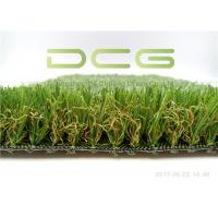 Quality Mixed Colorful Artificial Grass For Yard  High 16800 Density Easy Installation for sale