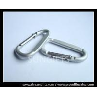 Quality D Shaped wire gate carabiners with custom logo for sale