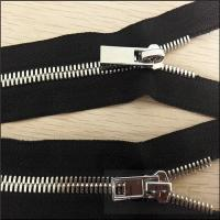 Quality High quality #8 metal zipper with nickel brass teeth C/E for sale for sale