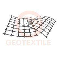 Quality Durable Retaining Wall Reinforcement Grid , High Strength Geogrid Reinforcing Fabric for sale