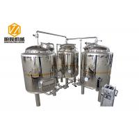Quality Shinning Mirror Polish Mini Beer Brewery Equipment 500L Pub Brewery With 2 Fermenters for sale