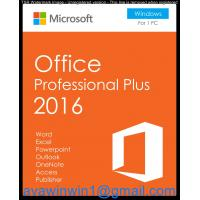 China Windows Plus 2016 And Office Home And Business 2016 Server For Home & Student on sale