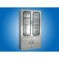 Quality Hospital furniture  full Stainless Steel Cabinet for Medical Apparatus and Instruments for sale