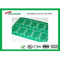 Quality RoHS Single Layer Custom Printed Circuit Board  FR4 Lead Free HASL IPC Standard for sale