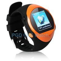Quality Custom SOS GPS Watch for Elderly / Kid Security with GEO Fence Alarm, Alarm Clock for sale
