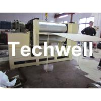 Quality 0.5 - 12m/min Embossing Speed Plywood Panel Embossing Machine With Frequency Control for sale
