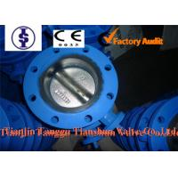 Quality Lever / Pneumatic Actuator EPDM U Type Butterfly Valve with Ductile Iron , Stainless Steel for sale