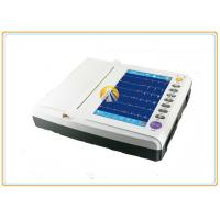 """Quality Twelve Channel Portable ECG Machine 12 Leads Waveforms 10"""" TFT Color LCD Touch Screen for sale"""