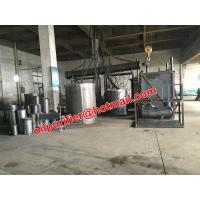 Quality Low cost waste engine oil distillation system, black car motor oil recycling system, engine oil decolorization plant for sale