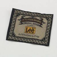 Quality solid woven tag for clothing for sale