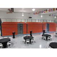 Quality Freestanding Echo Retractable Grandstands Cost Effective Polymer Bench for sale