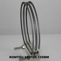 China Auto Komatsu Small Engine Piston Ring Set 125MM , Air Compressor Gapless Piston Rings on sale