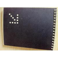 Best Wire Bound UV Spot Hardcover Book Printing With Folder Cover wholesale