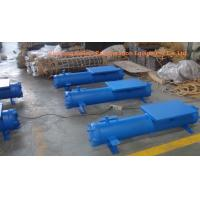 Quality Square Plate Type Chiller Heat Exchanger Water Cooled Condenser for sale