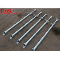Quality Zinc Plated Screw Jack Shoring Posts For Formwork Wall Bracing 2700mm / 4000mm for sale