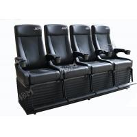 Quality Experience 4D Movie Theater With Hydraulic System For Theme Park for sale