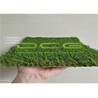 Quality 10000 Dtex Soft Artificial Grass Landscaping No Watering No Mowing Drain Easily for sale