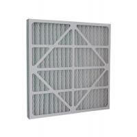 Quality G4 Pleats Type Cardboard Frame Primary Air Filter For Air Conditioning System for sale